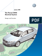 SSP 340 VW the Passat 2006 Electricals