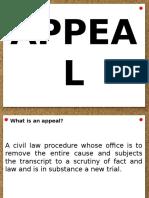 Appeal Presentation