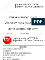Stop Introduction