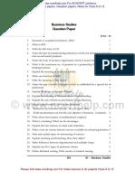 Business Studies Question 2014