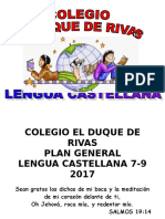 Plan de Español Modificado 2017