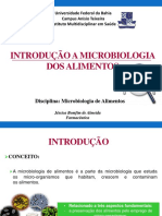 1. Introduçao a Microbiologia Dos Alimentos
