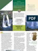 McArthur-Burney Falls Memorial State Park Brochure