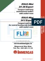 EOLO Mini 24-28 Export - Manual Tehnic - Ed 07-07 Centrala Termica (1)