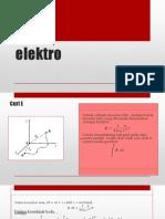 Elektrostatistik Part II