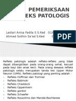 PEMERIKSAAN REFLEKS PATOLOGIS neuro.pptx