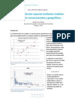 Predicción Espacial Mediante Modelos de Regresión Convencionales y Geográficos