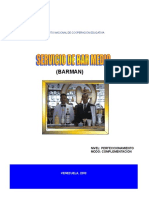 Manual de Bar Medio BARMAN