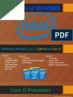 Processors of 2014-2015