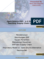 Open-Source ERP- Is It Ripe for Use in Teaching Supply Chain Management - Alyaa Putri - 1406553190