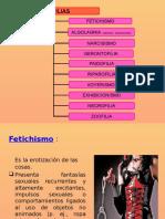 Sexologia Forense - Parafillas