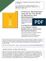 Gomez 1998 - Infancia y Aprendizaje