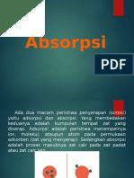 Perhitungan Absorber