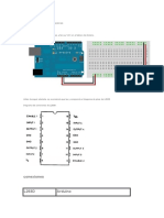 PUENTE H L293D  PRACTICAS BASICAS