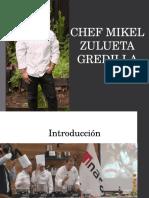 Chef Mikel Zulueta Gredilla