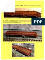Patine N° 4 Wagons Remms. Par H.L