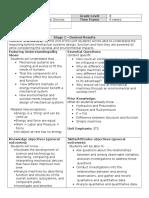 mechanical systems unit plan