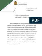 curadatonigrace week4 reflective learning journal