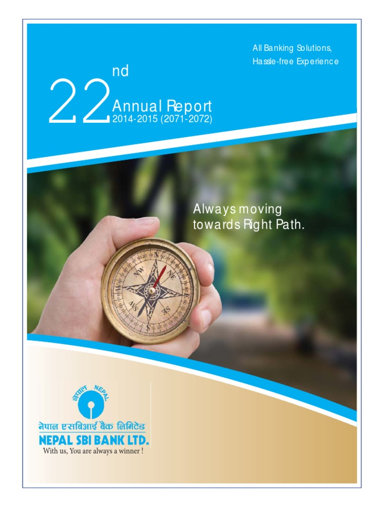 22 SBI Annual Report 2072 | Banks | Economic Growth