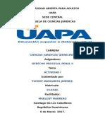 Actividad i Derecho Procesal Penal II (1)