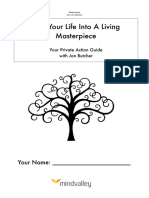 Turn Your Life Into a Living Masterpiece Masterclass With Jon Butcher Workbook