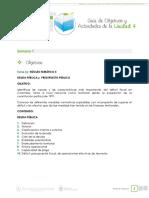 Guia de Objetivos y Actividades Unidad 4