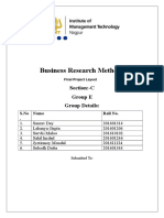 business research questionare