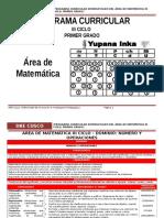 Área Matemática III Ciclo_1º Rutas