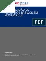 2014 Speed Report 025 Fortificação de Alimentos Básicos Em Moçambique