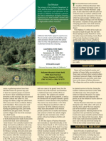 Palomar Mountain State Park Brochure