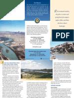 Picacho State Recreaion Area Park Brochure