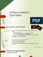 319955898 Product Analysis of Chocolate