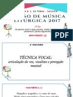 2º Dia Curso de Musica Liturgica Penha