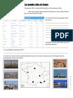 Doc Les Grandes Villes de France