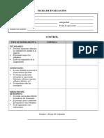 Auditoria - Evaluacion - Control