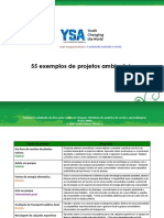 55 Exemplos de Projetos Ambientais