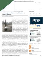 Soluciones Para Análisis de Productividad_ Fondo, Cabezal y Separador