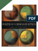 Sodaro, Politica y Ciencia Politica (2006)