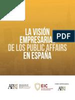 La Visión Empresarial de Los Public Affairs en España
