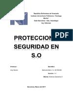 Seguridad y Proteccion en S.O