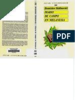 Diario de Campo en Melanesia.  Malinowski, B.