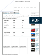 Memasang 1 m' List Plafond Gysum Profil - Analisa Harga Satuan