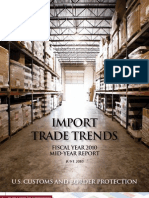 U.S. Customs Import Trends FY 2010 Mid-Year Report