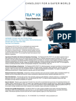 LS Rapiscan Detectra HX Explosives Detection