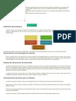 Diagnóstico del problema y valoración de la factibilidad para el desarrollo de sistemas de información