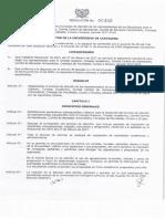 Reglamentacion Proceso Eleccion Representantes de Los Estudia