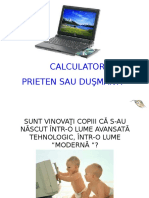 0 Calculatorul Prieten Sau Dusman