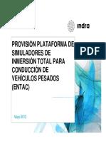 Indra - EnTAC - Presentacion Tecnica