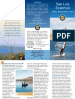 San Luis Reservoir State Recreaion Area Park Brochure
