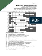 Guía n° 1 Crucigrama Filosofia 2017